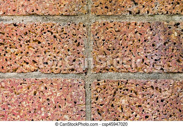Brick wall - csp45947020