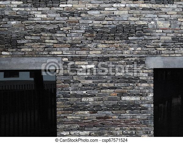 Brick wall - csp67571524