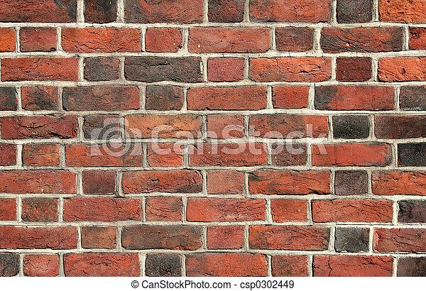 Brick wall - csp0302449