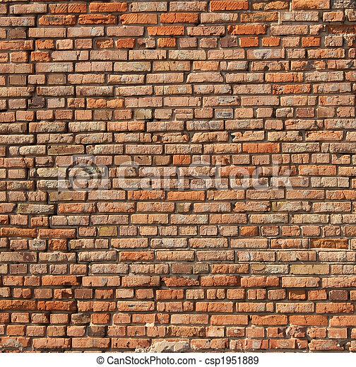 Brick wall  - csp1951889