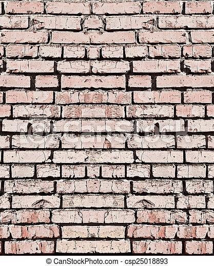 brick wall - csp25018893