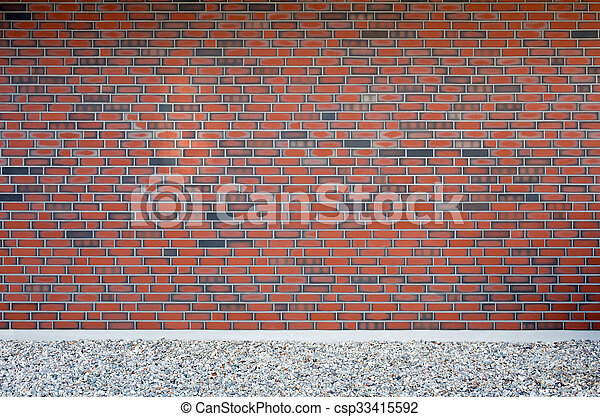 Brick wall - csp33415592