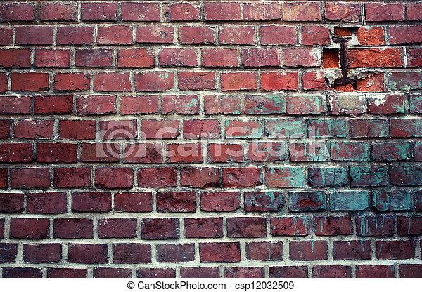 brick wall - csp12032509