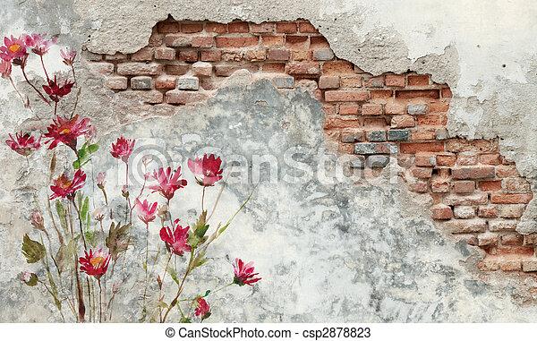 brick wall - csp2878823