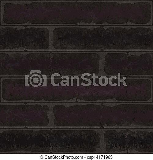 seamless black wall texture. Brick Wall Texture Background Seamless Cgi Dark - Csp14171963 Black