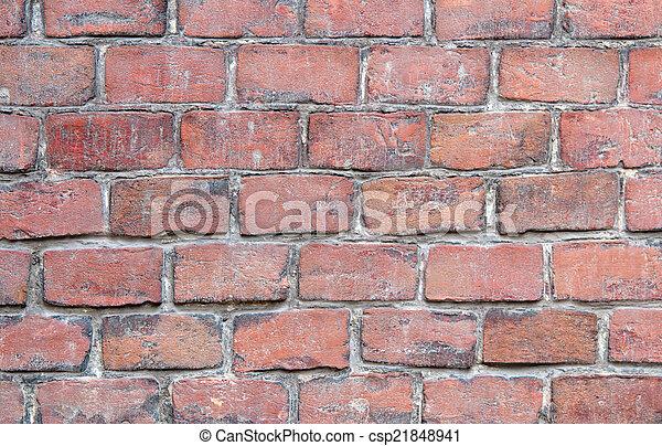 brick wall texture - csp21848941