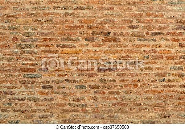 Brick wall texture - csp37650503