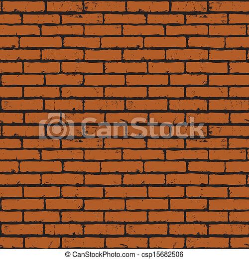 seamless background of red brick wall texture rh canstockphoto com brick wall border clip art brick wall images clip art free