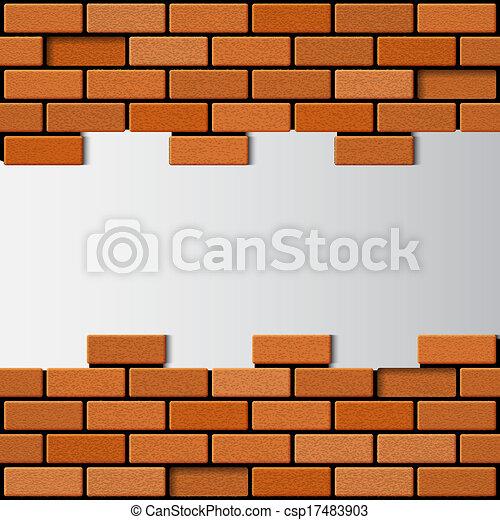 Brick Wall EPS10 Vector