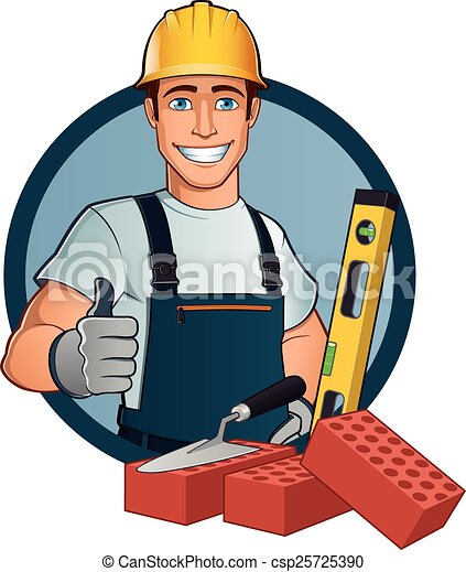 Bricklayer - csp25725390