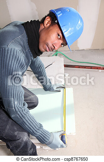 Bricklayer measuring plate - csp8767650