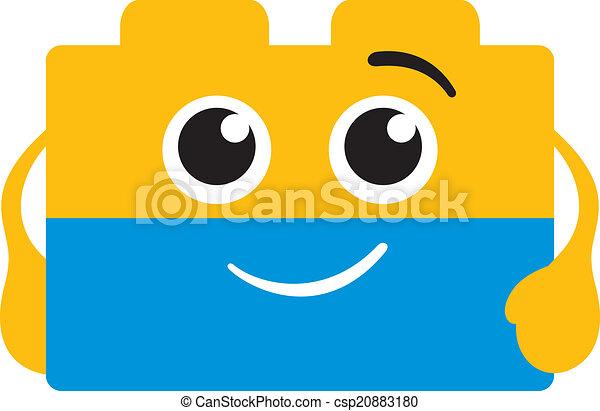 Bricks logo - csp20883180