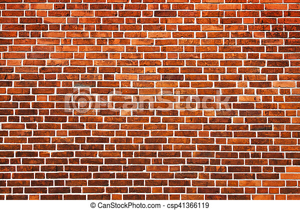 Bricks wall background - csp41366119