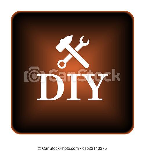 bricolage, icône - csp23148375