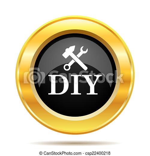 bricolage, icône - csp22400218