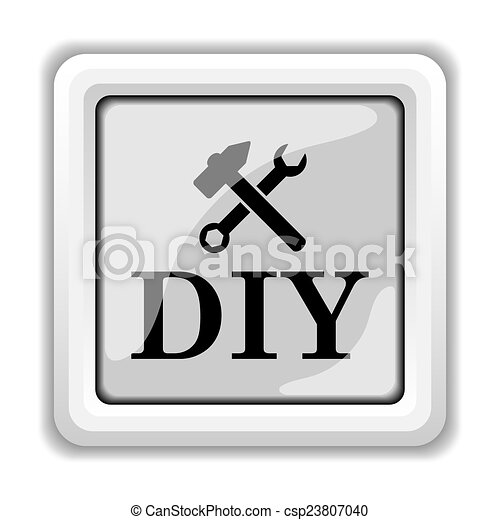 bricolage, icône - csp23807040