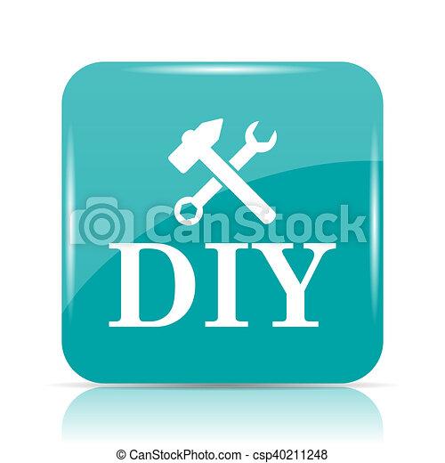 bricolage, icône - csp40211248