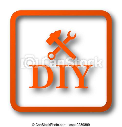 bricolage, icône - csp40289899