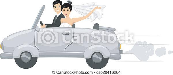 Bridal Car - csp20416264