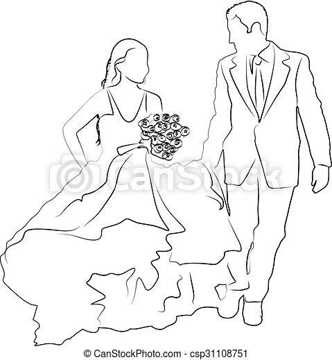 Bridal couple - csp31108751