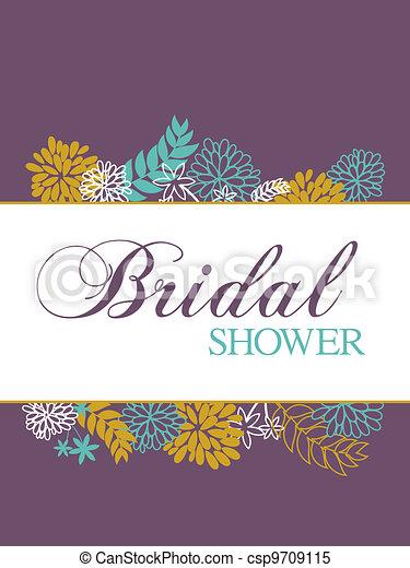 bridal shower card csp9709115