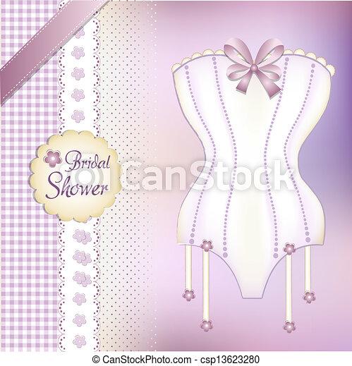 Bridal shower greeting card bridal shower greeting card csp13623280 m4hsunfo