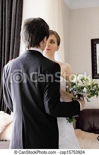 Bride and groom - csp15753924