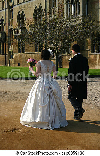 bride and groom - csp0059130