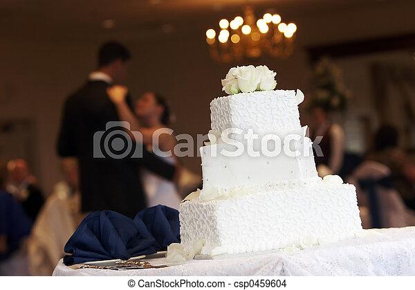 Bride Groom Cake - csp0459604