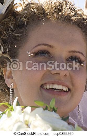 Bride portrait III - csp0385269