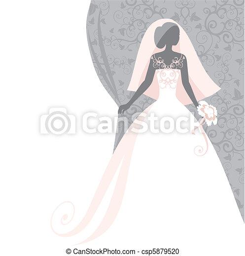 bride - csp5879520