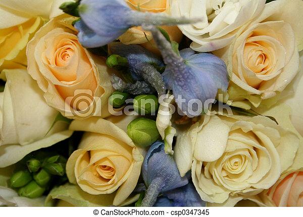 Brides Bouquet - csp0347345