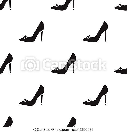 Bride's shoes icon of vector illustration for web and mobile - csp43692076