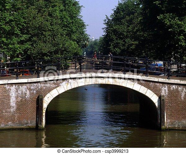 Bridge, Amsterdam - csp3999213