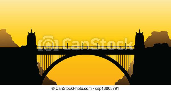 Bridge Arch - csp18805791