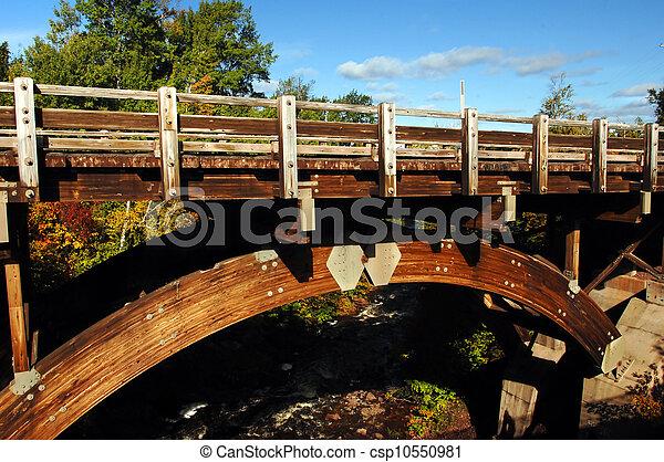 Bridge at Eagle River Falls - csp10550981