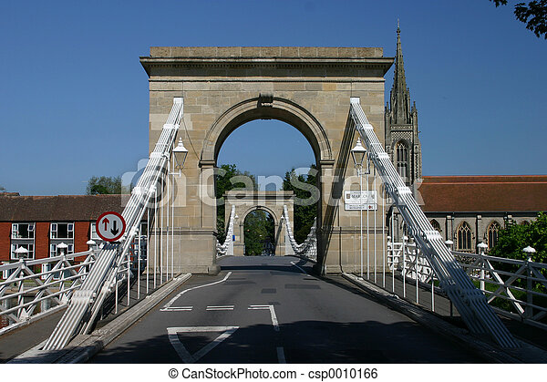 bridge at Marlow - csp0010166