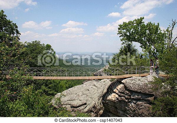 Rock City Tennessee Bridge
