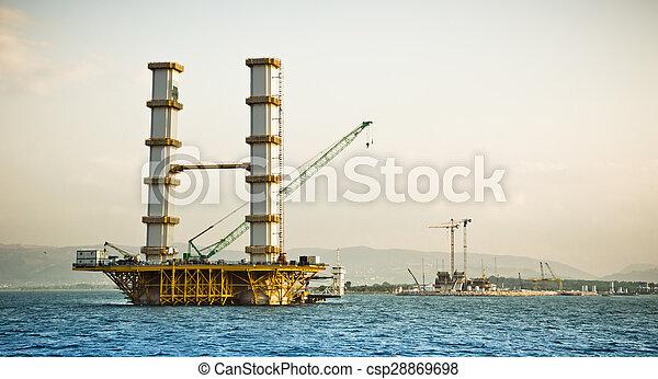 Bridge Construction - csp28869698