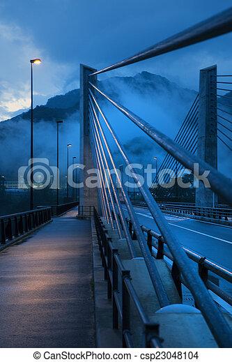 Bridge detail - csp23048104