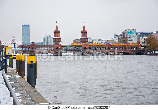 Bridge in Berlin - csp28383207