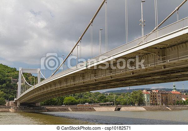 Bridge in Budapest, Hungary - csp10182571