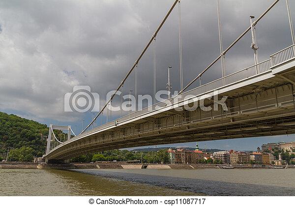 Bridge in Budapest, Hungary - csp11087717
