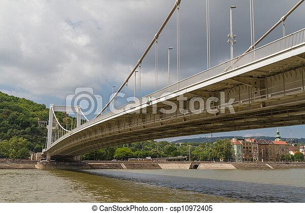 Bridge in Budapest, Hungary - csp10972405