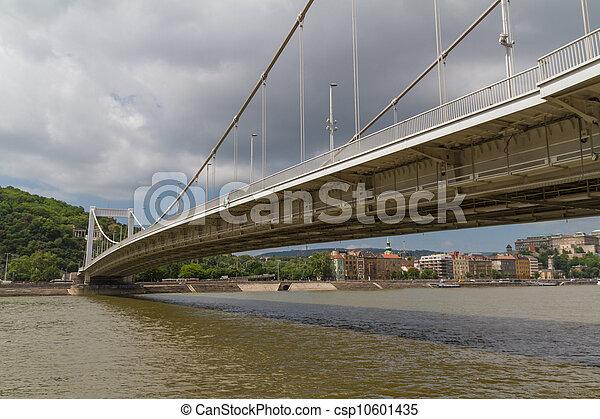 Bridge in Budapest, Hungary - csp10601435