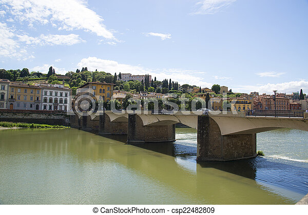 Bridge in Florence, Italy. - csp22482809
