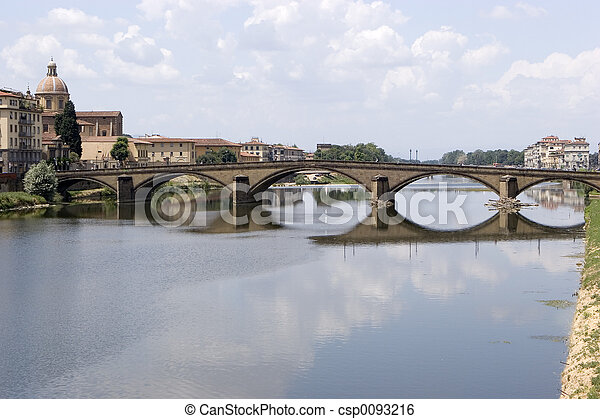 Bridge in Florence - csp0093216