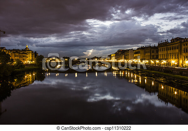 Bridge in Florence - csp11310222