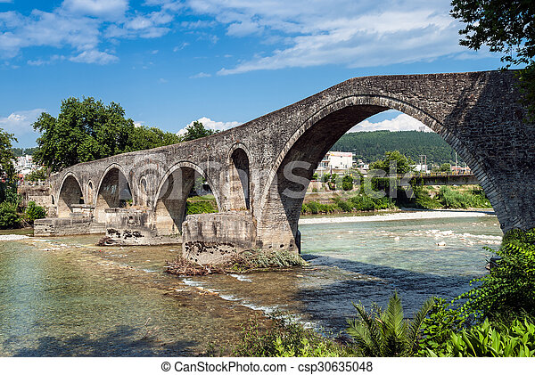 Bridge in Greece - csp30635048