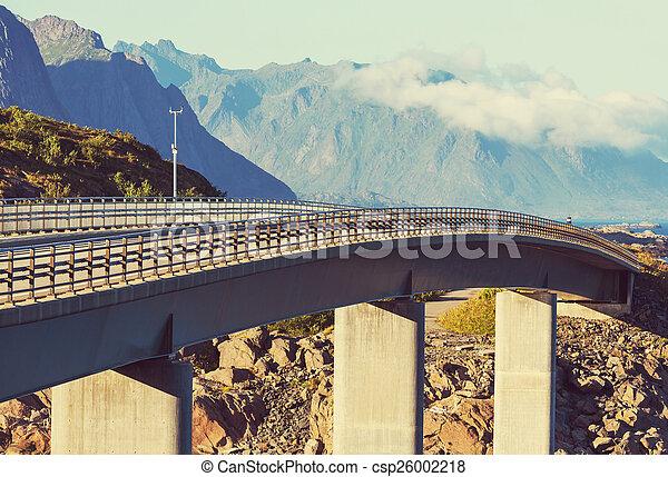 Bridge in Norway - csp26002218